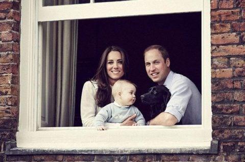 Cambridge royal family portrait March 2014