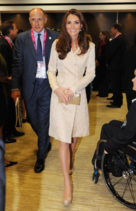 Kate Middleton at the Paralympic opening ceremony