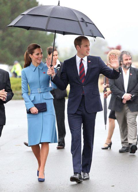 Kate Middleton Alexander McQueen coat