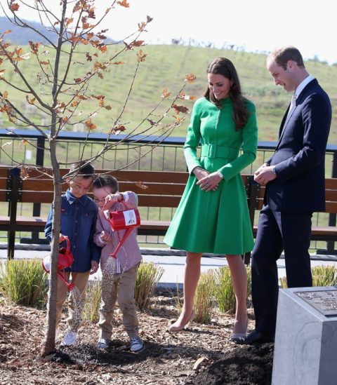 Kate Middleton Canberra Catherine Walker
