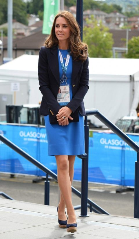 Kate Middleton Commonwealth Games 2014 sportsaid