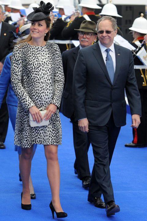 Kate Middleton Dalmatian Hobbs coat