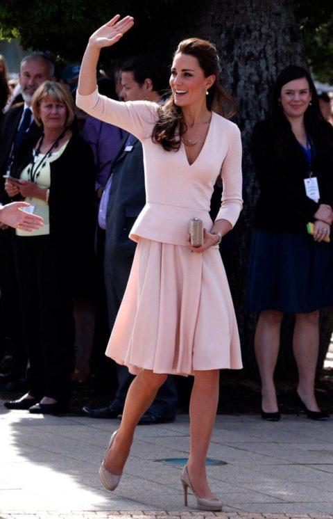 Kate Middleton Elizabeth Australia Alexander McQueen