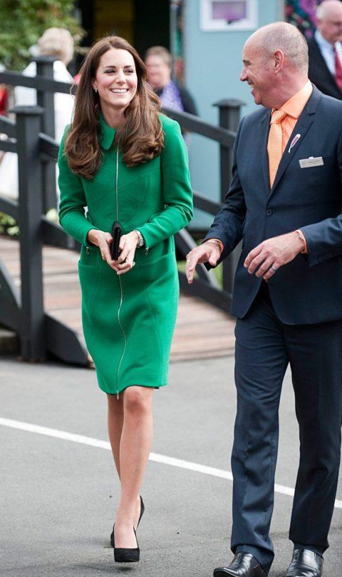 Kate Middleton Erdem New Zealand