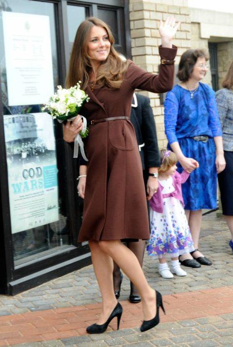 Duchess Of Cambridge Grimsby Visit