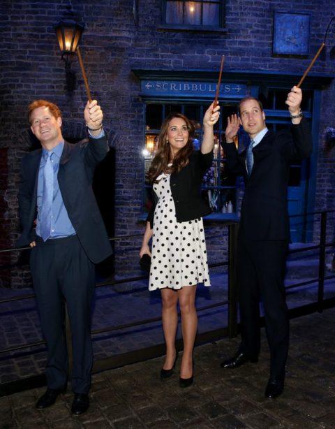 Kate Middleton Harry Potter Topshop Polka Dots