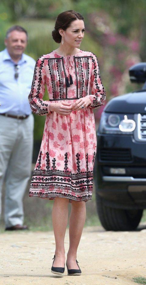 Kate Middleton India Safari Date