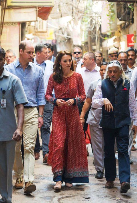 Kate Middleton India Salaam Baalak