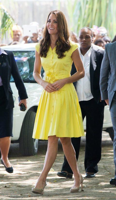 The Duke And Duchess Of Cambridge Diamond Jubilee Tour - Jaeger