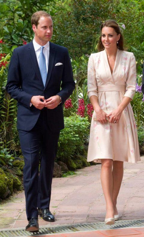 Kate Middelton Jenny Packham Singapore The Duke And Duchess Of Cambridge Diamond Jubilee Tour