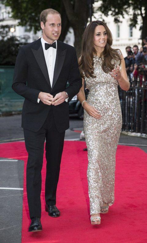 Kate Middleton Jenny Packham Tusk Awards