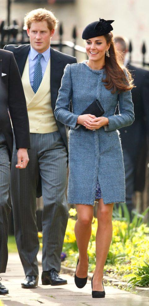 Kate Middleton Missoni tweed coat