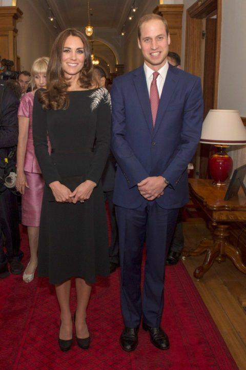 Kate Middleton New Zealand Jenny Packham