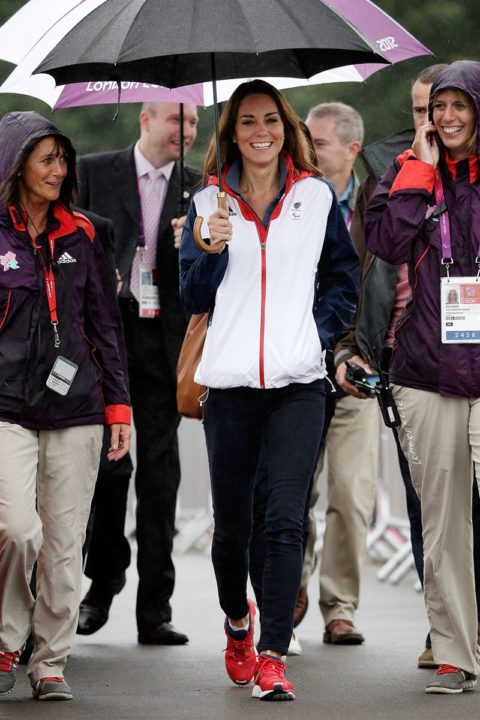 2012 London Paralympics - Day 4 - Rowing - Kate Middleton