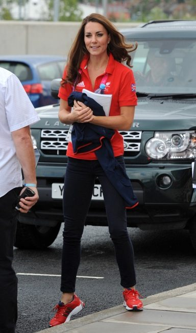 Kate Middleton at the London Paralympic Games