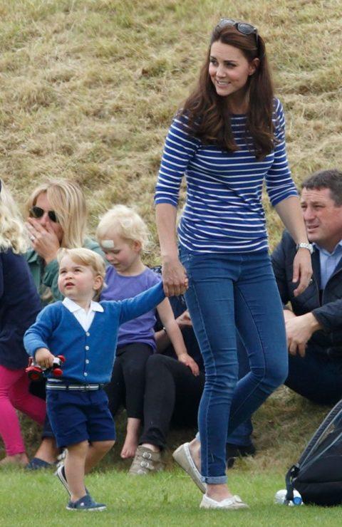 Kate Middleton Prince George Festival of Polo