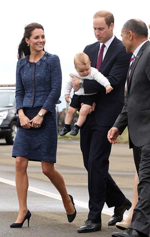 Kate Middleton Rebecca Taylor New Zealand