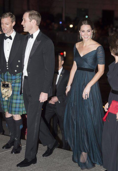 Kate Middleton St Andrews Anniversary Gala Met New York City
