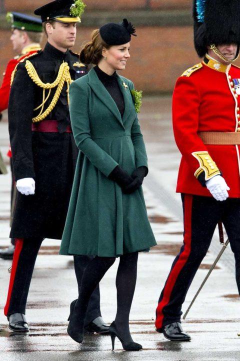 Kate Middleton St Patricks Day 2013