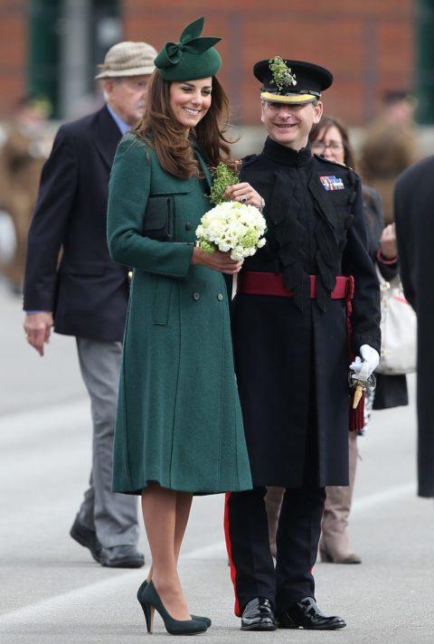 Kate Middleton St Patricks Day 2014 Hobbs