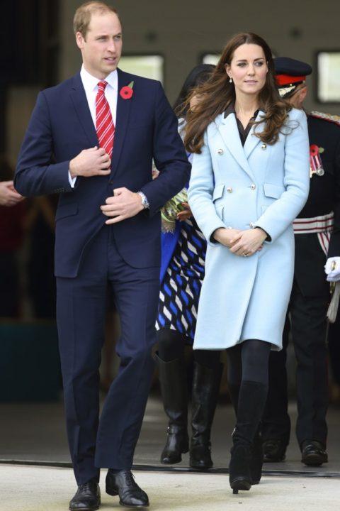 Kate Middleton Style Pembroke Oil Refinery Visit