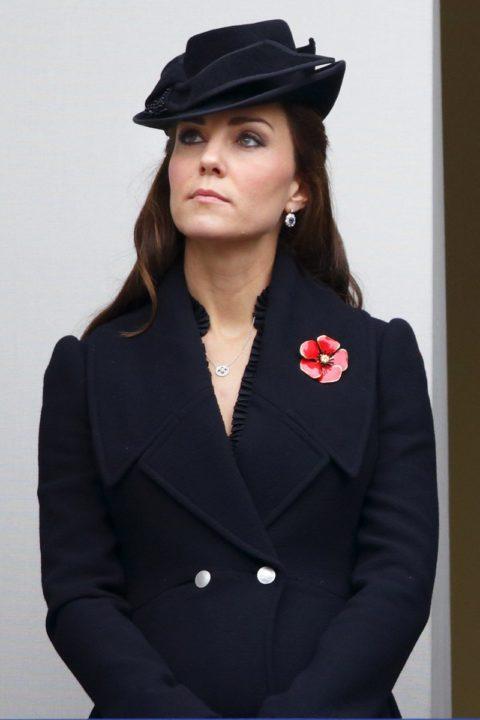 Kate Middleton Style Rembrance Day Ceremony