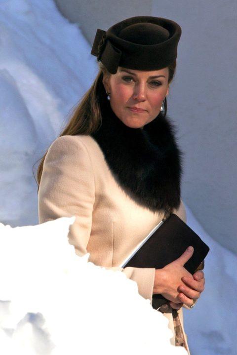 Kate Middleton Swiss Wedding MaxMara baby bump