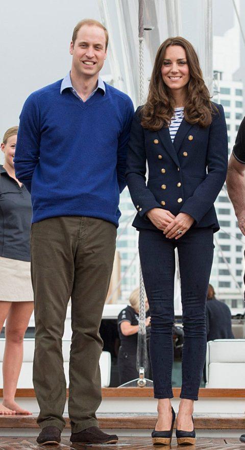 Kate Middleton Zara yacht