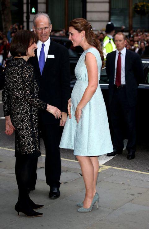 Kate Middleton baby bump Emilia Wickstead