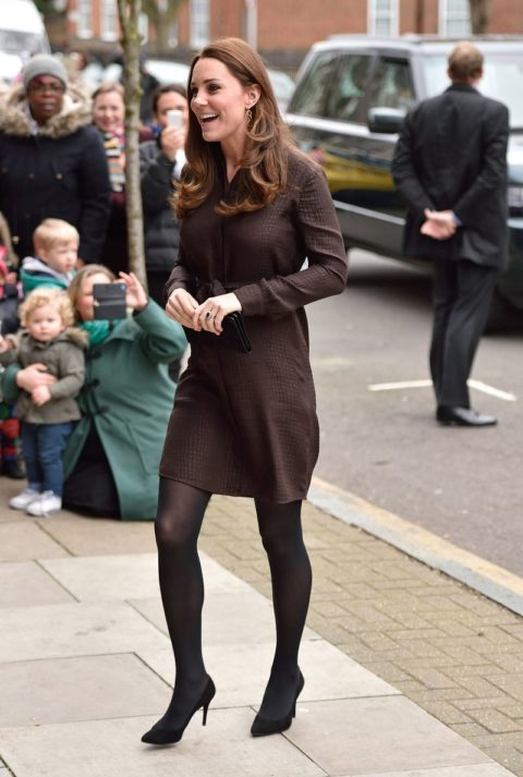 Kate Middleton baby bump The Fostering Network