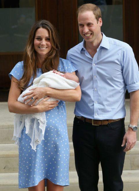 Kate Middleton baby reveal Jenny Packham