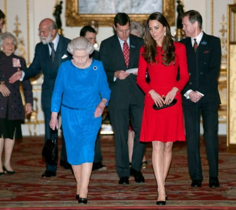 Kate Middleton red McQueen