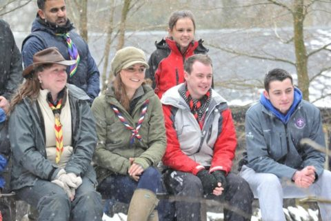 Kate Middleton Scout Training Day