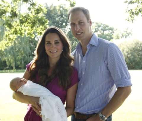 Prince George Kate Middleton official photos