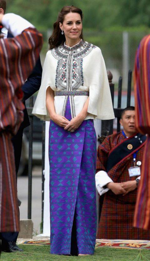 kate middleton bhutan Thimphu Dzong