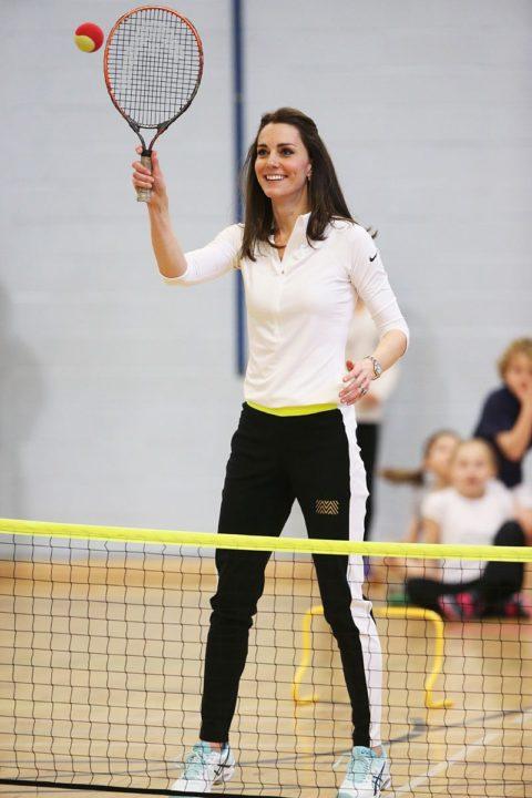 kate middleton edinburgh tennis workshop