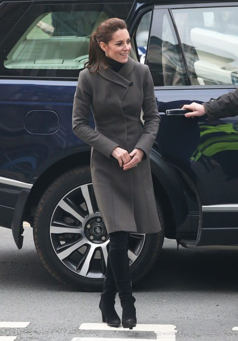 kate middleton north wales visit reiss coat
