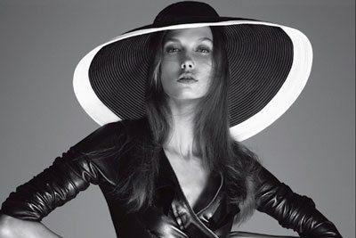 Karlie Kloss for Vogue Italia December 2011