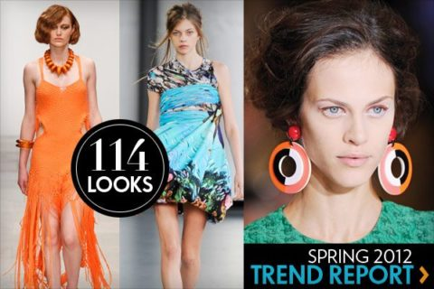 Spring trend report: 114 of the top looks from New York, London, Milan, and Paris!