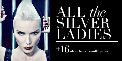 All the silver ladies