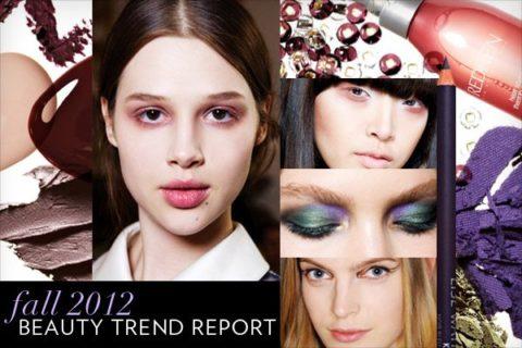Fall/Winter 2012 beauty trend report