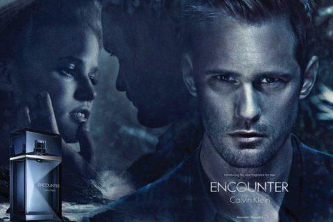 Alexander Skarsgard Calvin Klein Encounter Ad