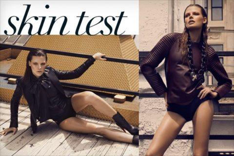 Photo shoot: Skin test