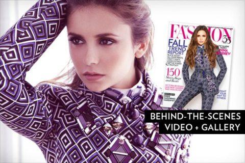 FASHION Magazine | September 2012 | Nina Dobrev