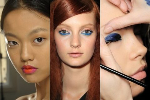 London top 5 backstage beauty Spring 2013
