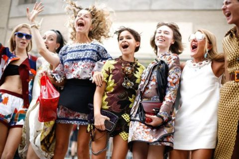Editors Jumping, New York Fashion Week Spring 2013 Street Style