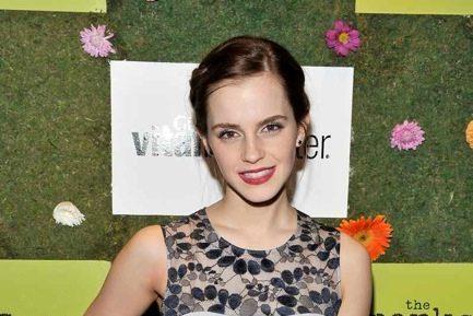 Emma Watson Perks of Being a Wallflower party TIFF 2012 Toronto