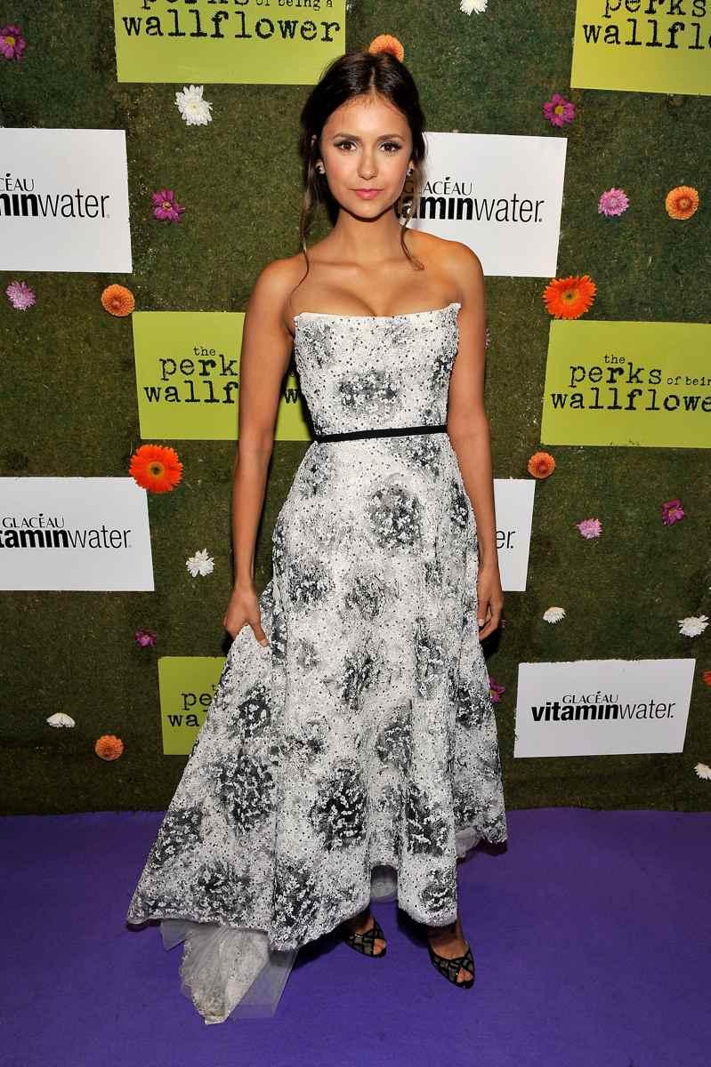 Nina Dobrev Perks Of Being A Wallflower Premiere Hair Nina Dobrev Perks Of B...