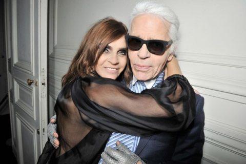 Karl Lagerfeld Carine Roitfeld set to launch perfumes
