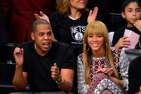 Beyonce Debuts Bangs and Obama Hoop Earrings